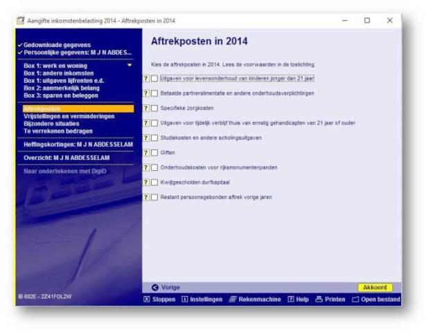 Page du programme du Belastingdienst avec les avantages fiscaux dont vous pouvez bénéficier aux Pays-Bas