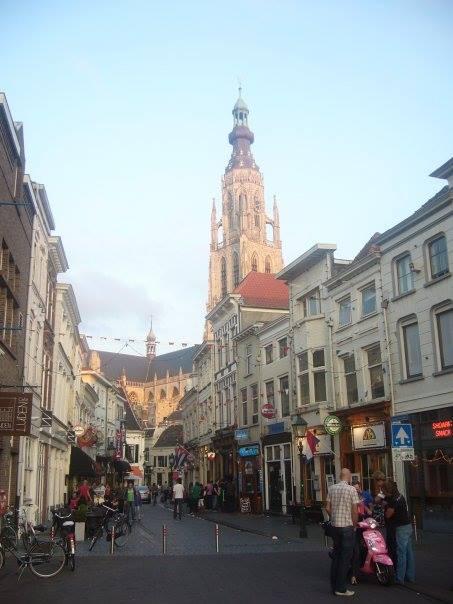 Breda rue du centre-ville