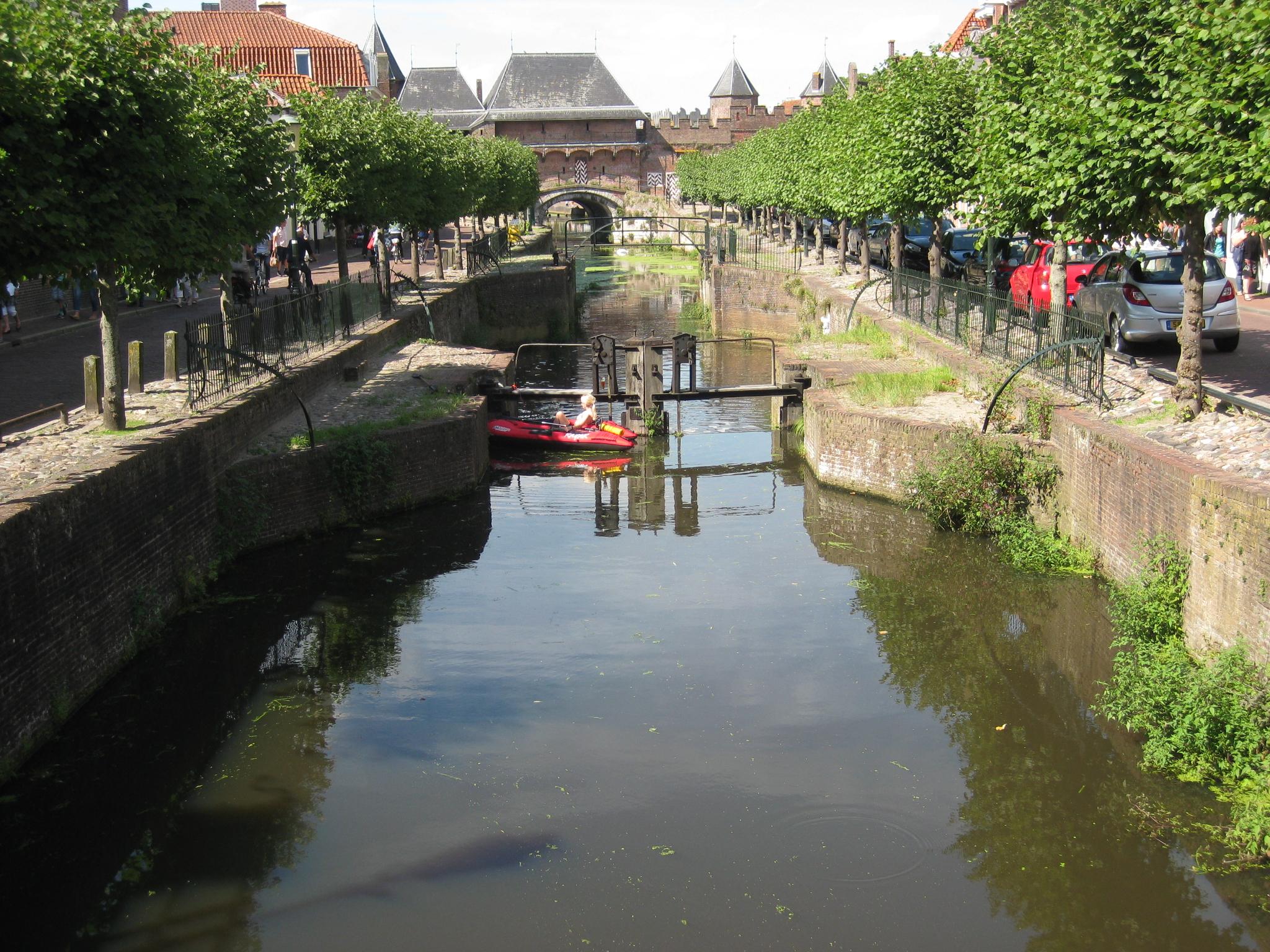 Amersfoort et ses canaux du Moyen-Age