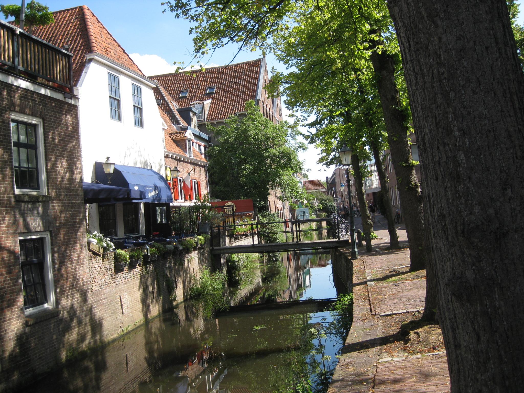 Amersfoort et ses canaux