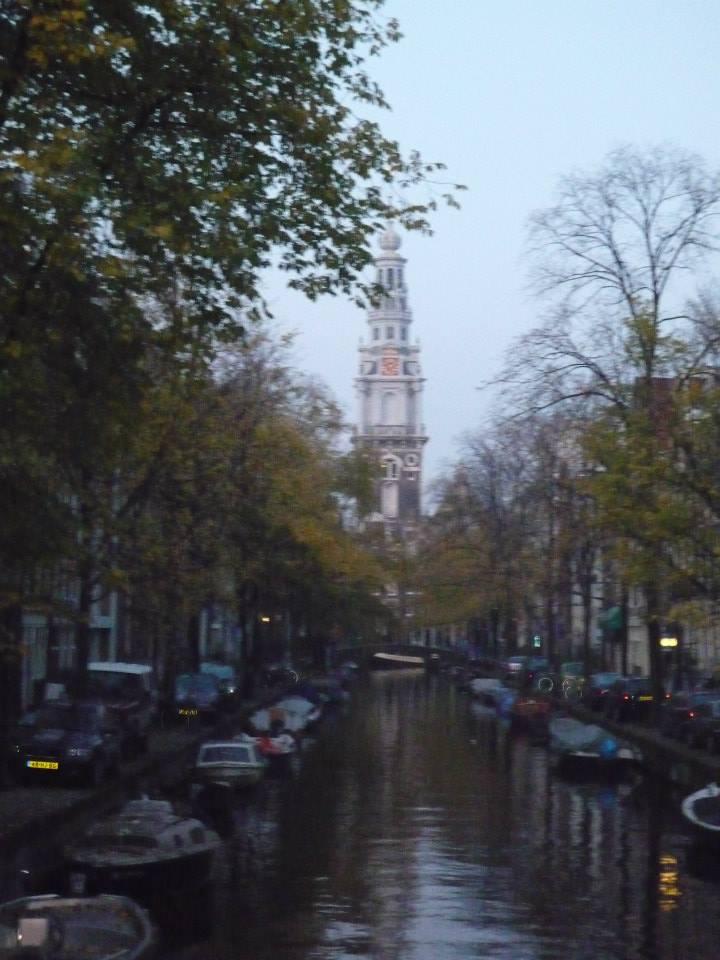 Amsterdam vue sur les canaux