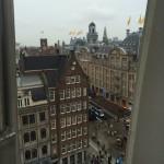 Amsterdam vue sur le Dam et le Bijenkorf