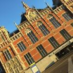 Amsterdam et sa gare centrale