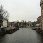 Amsterdam vue sur l'Amstel