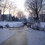 Breda rivière gelée
