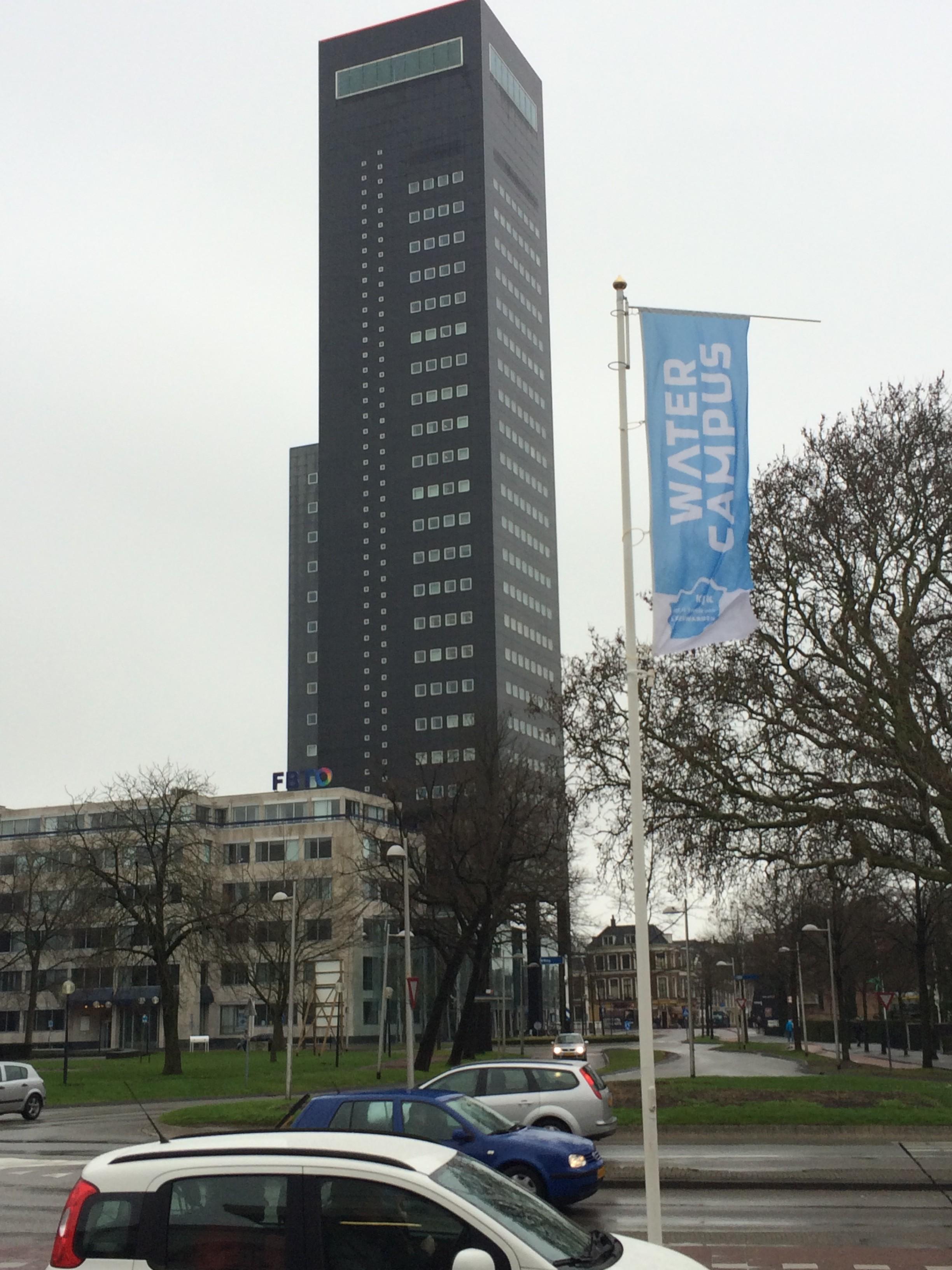Leeuwarden et la tour Deloitte
