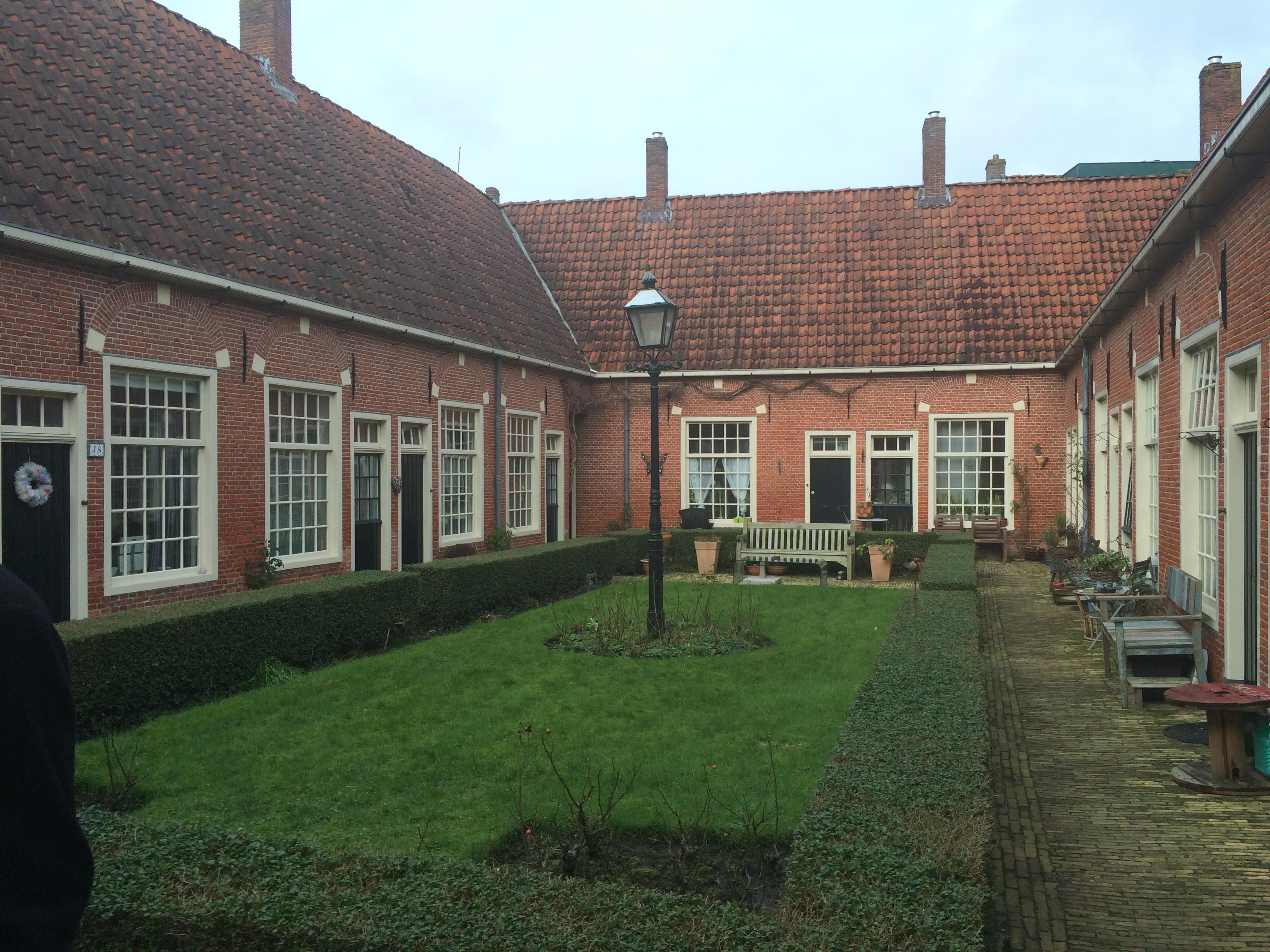 Leeuwarden et son béguinage