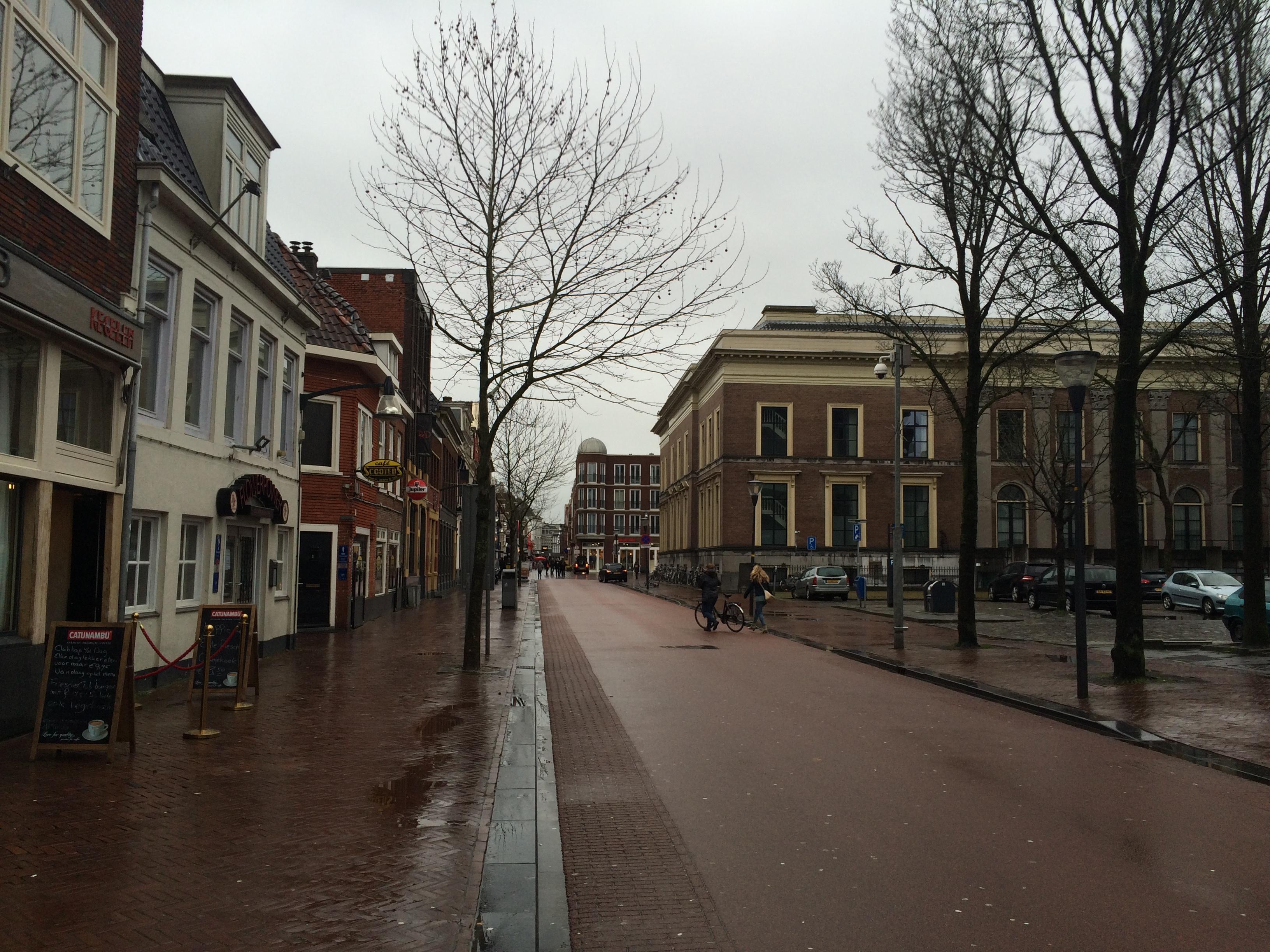 Leeuwarden rue du centre ville