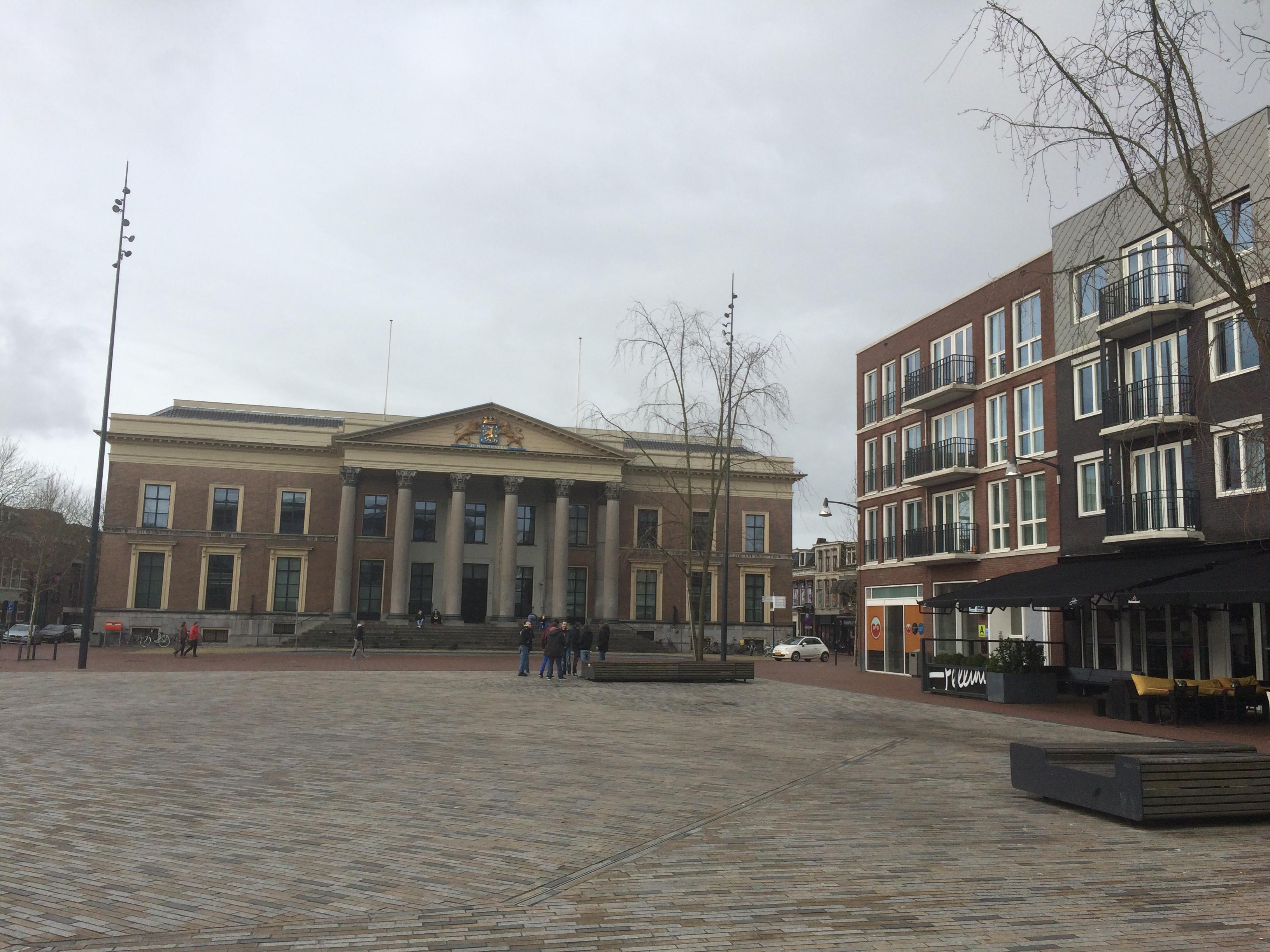 Leeuwarden palais de Justice