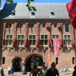 Middelburg et l'entrée de son abbaye