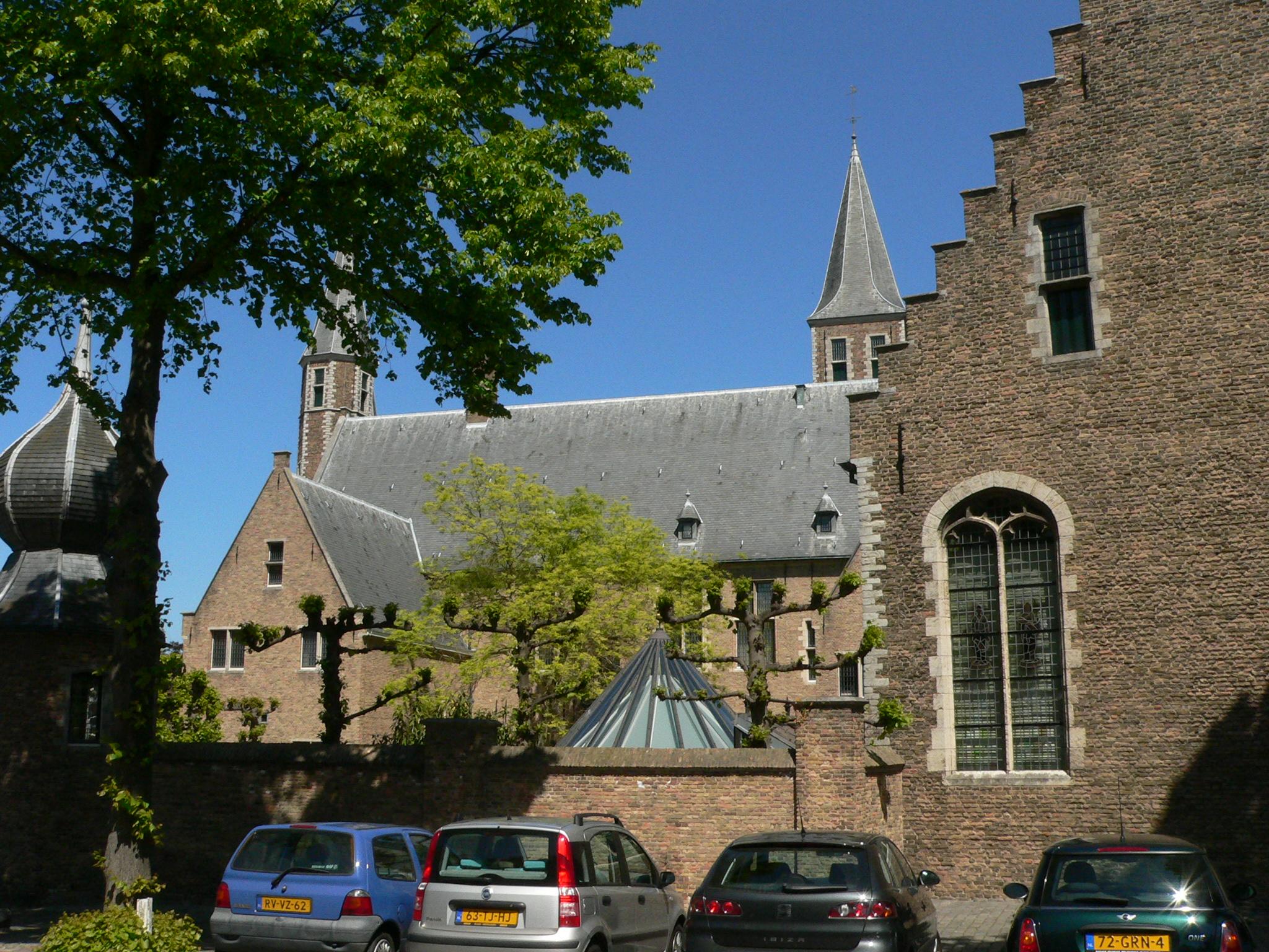 Middelburg vue sur l'abbaye