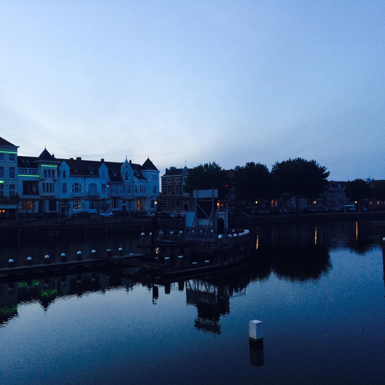 Middelburg vue sur un canal