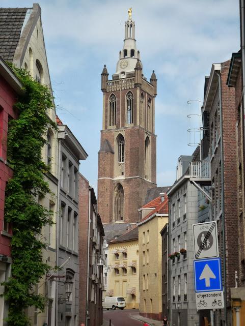 Roermond vue sur le clocher