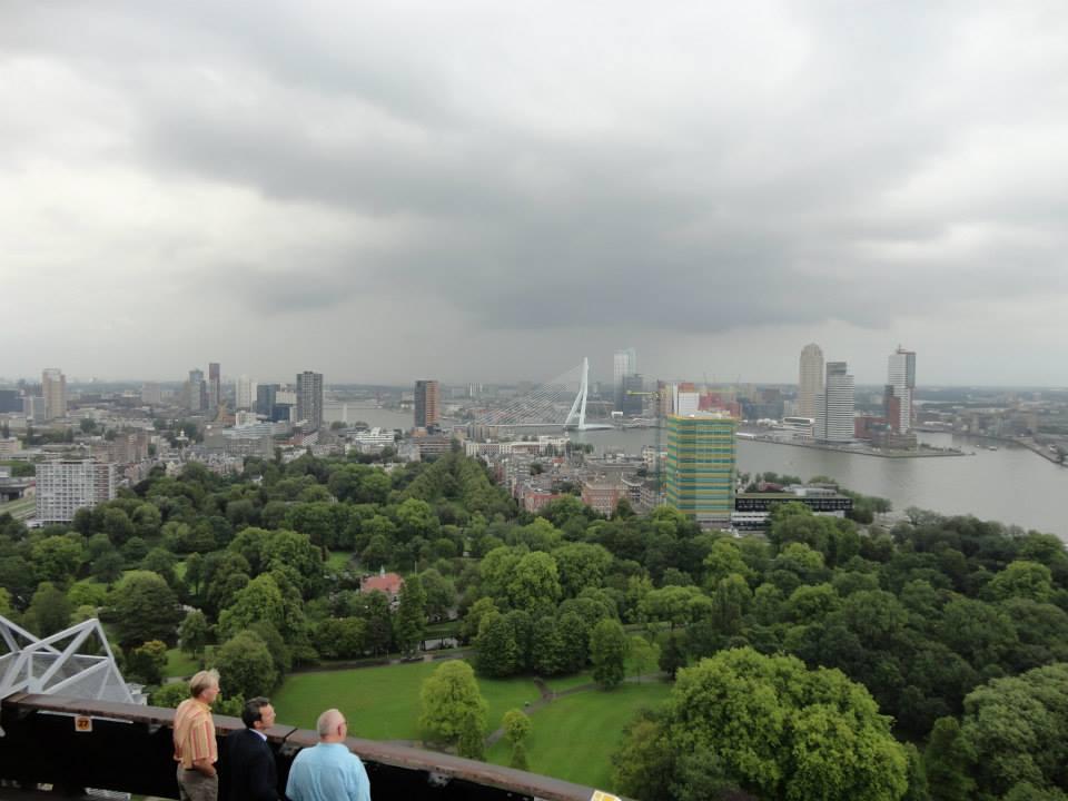 Rotterdam vue de la tour Euromast