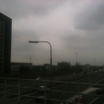 Tilburg vue sur l'autoroute