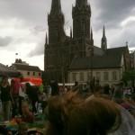 Tilburg place Heuvel avec vue sur l'église