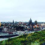Amsterdam vue du Skylounge sur le centre ville