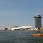Amsterdam et la tour Lookout