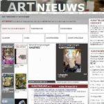 Site d'informations sur les arts aux Pays-Bas
