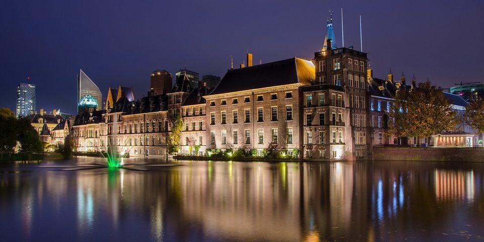 La Haye, siège du parlement aux Pays-Bas
