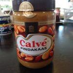 Beurre de cacahuètes de la marque néerlandaise Calvé