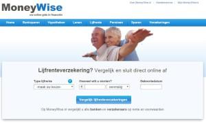 MoneyWise comparateur d'assurances-vie aux Pays-Bas