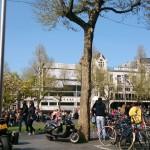 Amsterdam et la place Rembrandt (Rembrandtplein)