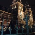 Amsterdam et le Rijksmuseum de nuit