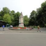 Breda et la statue du Roi