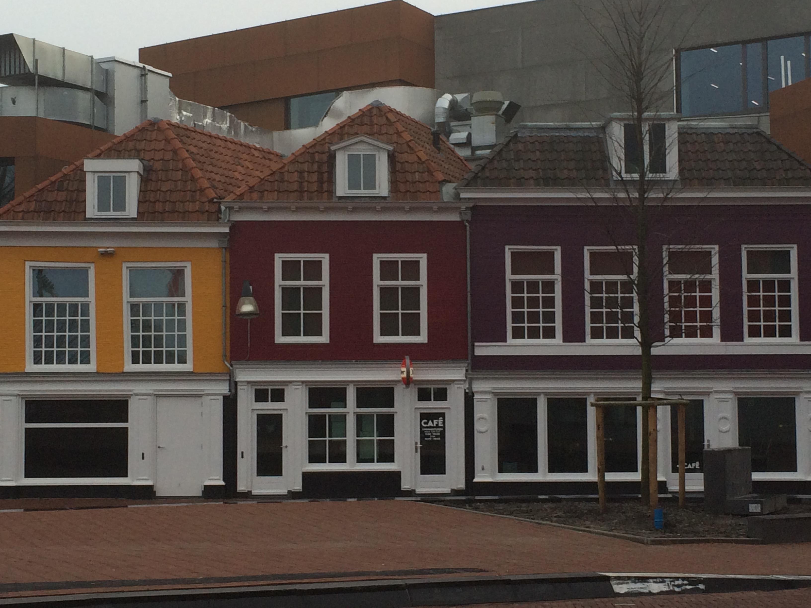 Leeuwarden maisons colorées
