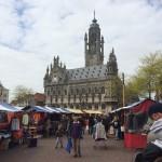 Middelburg et la place du marché
