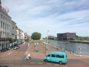 Middelburg canal près de la gare