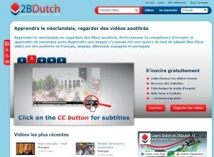 2BDutch site internet pour apprendre le n