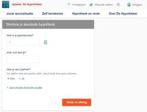 Hypotheker intermédiaire pour les prêts immobiliers aux Pays-Bas