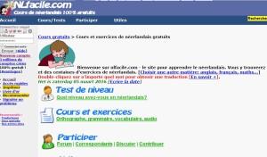 NLfacile.com site pour apprendre le néerlandais