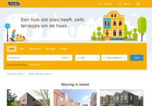 Funda, moteur de recherche de biens immobiliers aux Pays-Bas
